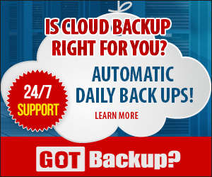 Cloud Based Data Back Up.
