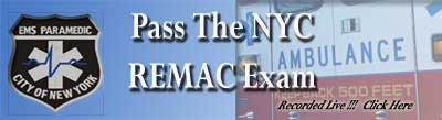 nyc remac paramedic exam