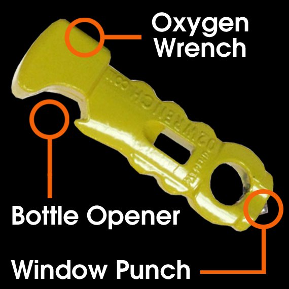 The WANTYNU Oxygen Wrench