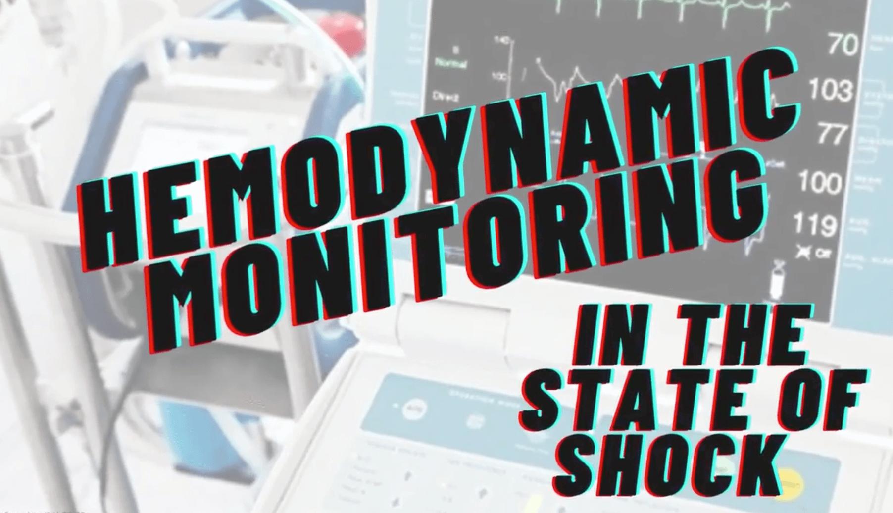 Hemodynamic Monitoring In Shock